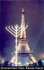 Shalom and Beruchim Habaim in Paris